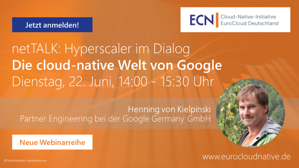 netTALK: Hyperscaler im Dialog: Die cloud-native Welt von Google