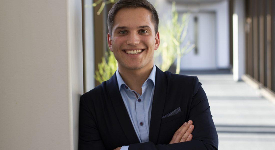 Jan-David Brustik, Greenlake Ecosystem Developer bei Hewlett Packard Enterprise