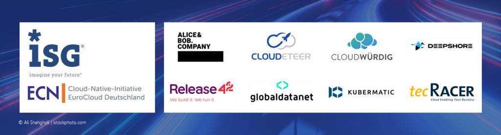 ISG Pulse Check Logos